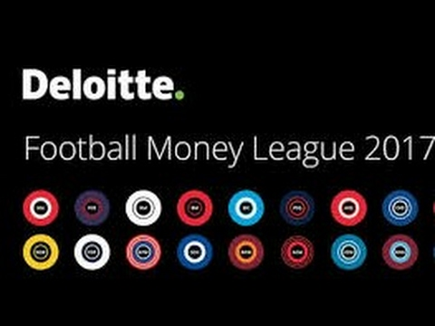 20 RICHEST CLUBS IN THE WORLD IN 2016-Deloitte Football Money League 2017