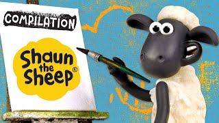 Seni & kerajinan | Kompilasi | Shaun the Sheep