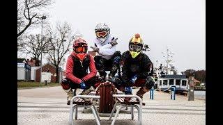 Zabrakło mi paliwa na trasie   trening wolne i szybkie wheelie   Derbi Senda daje radę!