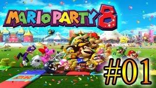 Let's Play : Mario Party 8 - Parte 1