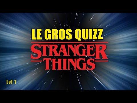 STRANGER THINGS LE TEST niveau facile (Quizz 1/3)