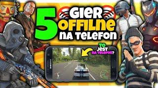 5 NAJLEPSZYCH gier OFFLINE Na Telefon! 11 *kozak gierki*