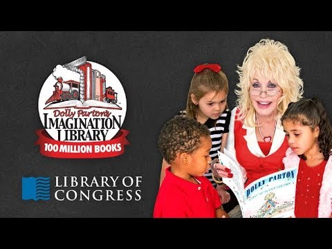 Dolly Parton Dedicates Her Imagination Library's 100 Millionth Book to the Library of Congress