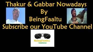Parody of Thakur & Gabbar   Sholay    Funny Vine   Comedy Video   Hindi-Urdu