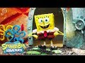 watch he video of SpongeBob SquarePants 🎤  Theme Song Reimagined in Stop Motion | Nick