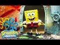 SpongeBob SquarePants 🎤  Theme Song Reimagined in Stop Motion | Nick