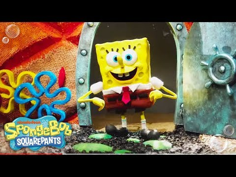 theme-song-reimagined-in-stop-motion-🎤-|-spongebob