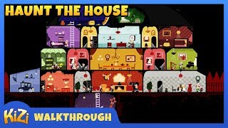 [Kizi Games] Haunt The House → Full Game Walkthrough