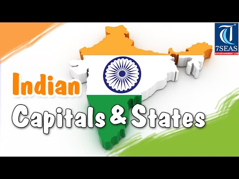 Capital and States in India | Animated Video | Tour the States