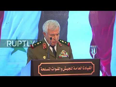 Syria: US slammed during meeting of military chiefs of Iran, Syria and Iraq