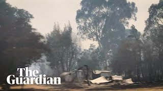 Destruction left in the wake of Victorian bushfires