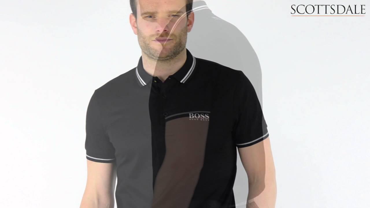 17aee5a1a Hugo Boss Paddy Pro 2 Polo Shirt Black - YouTube