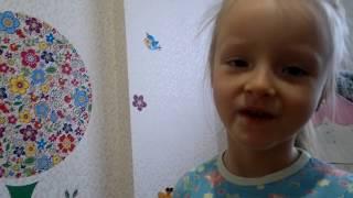Детский домик своими руками из коробки, обзор и немного поиграем.