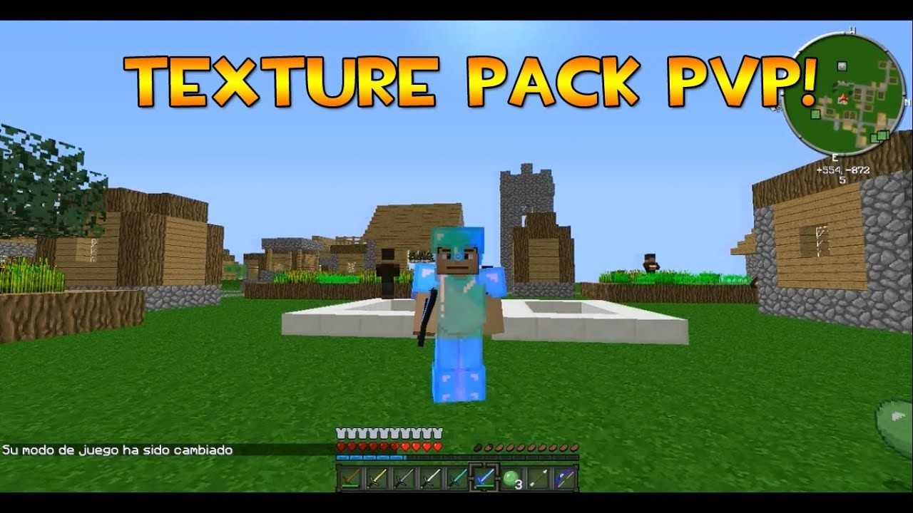 Texture pack PVP || MCpvpPack || MINECRAFT || 1.5.2 - YouTube