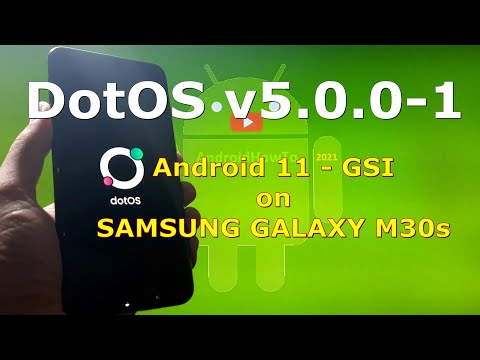 DotOS v5.0.0-1 Android 11 for Samsung Galaxy M30s - Custom ROM