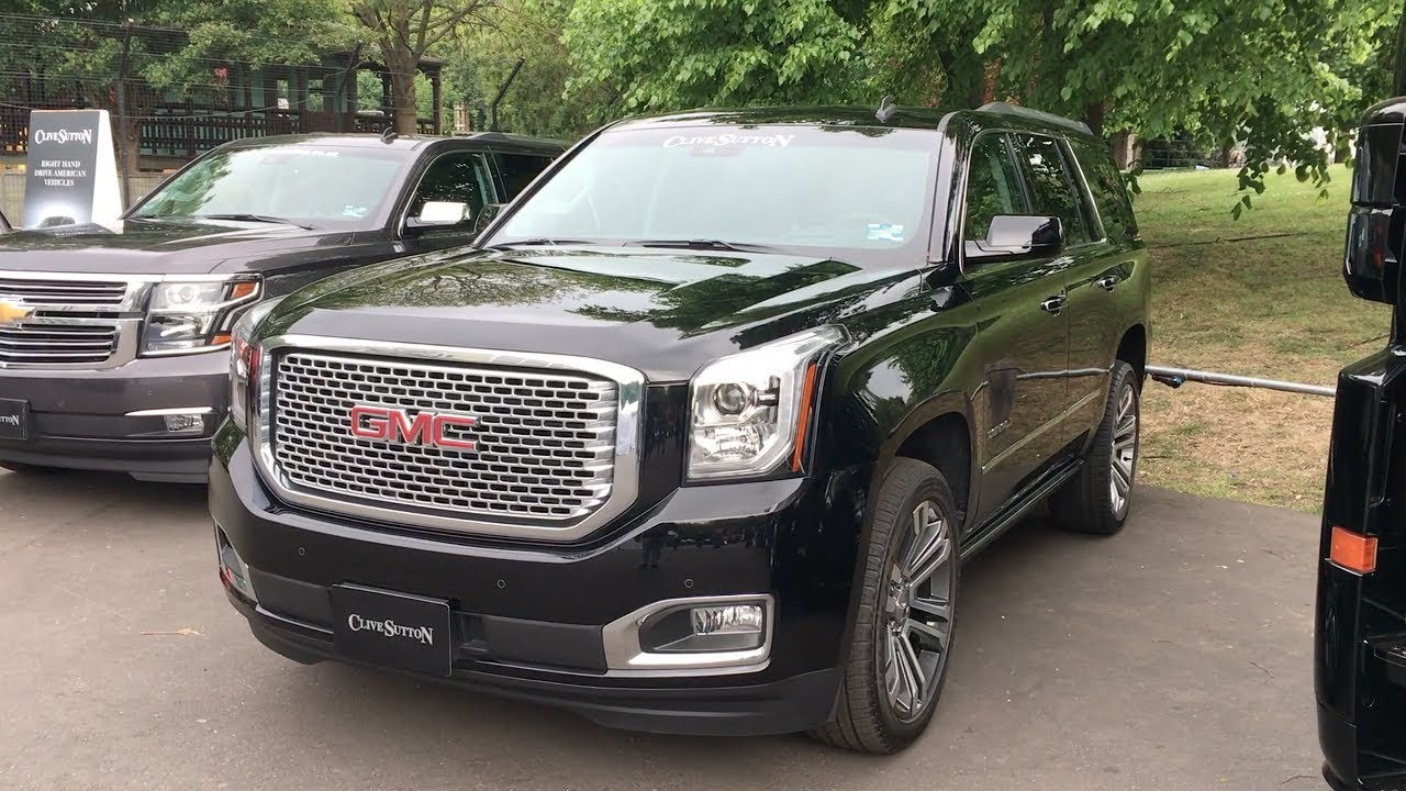 Gmc Yukon Denali 2017 In Detail Review Walkaround Interior Exterior