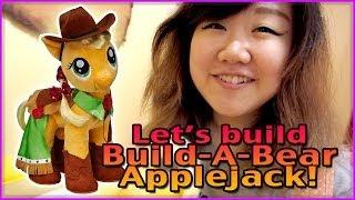 Let's Build Build-a-bear Applejack!