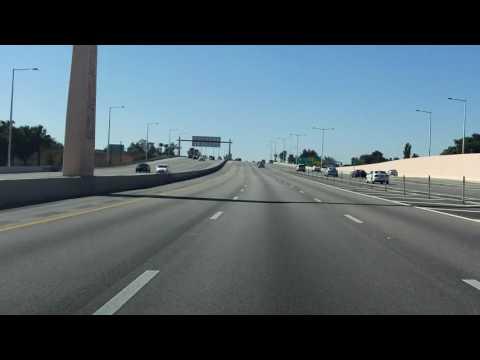 Don Shula Expressway (FL 874) southbound
