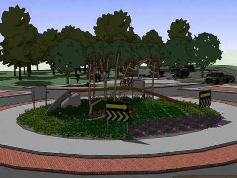 roundabout concept design