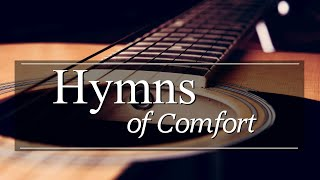 Hymns of Comfort - Solo Acoustic Guitar - 2 Hours Instrumental Worship - 4k