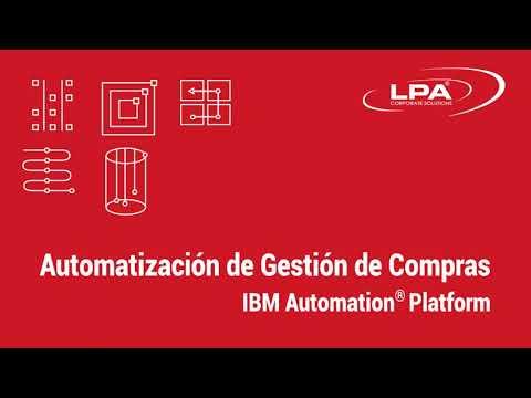 ¿Cómo automatizar su proceso de compras con Business Automation Workflow de IBM?