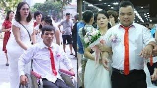 Xu'c Đông Trước Đám Cưới Của Cặp Vợ Chồng Mu` Lo`a Khiến Bao Người Rơi Nươ'c Mă't - TIN TỨC 24H TV