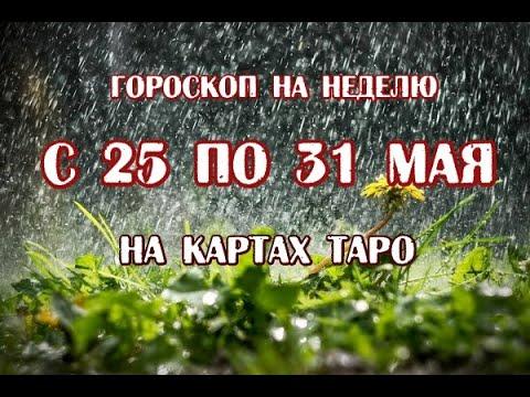 Гороскоп на неделю с 25 по 31 мая 2020 года. Для всех знаков зодиака. Таро Зеленой Ведьмы.