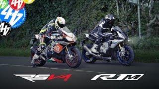 Aprilia RSV4 RF v Yamaha YZF-R1M: Part Two | Road Test