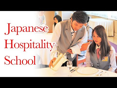 Japanese Hospitality School that has only foreign students