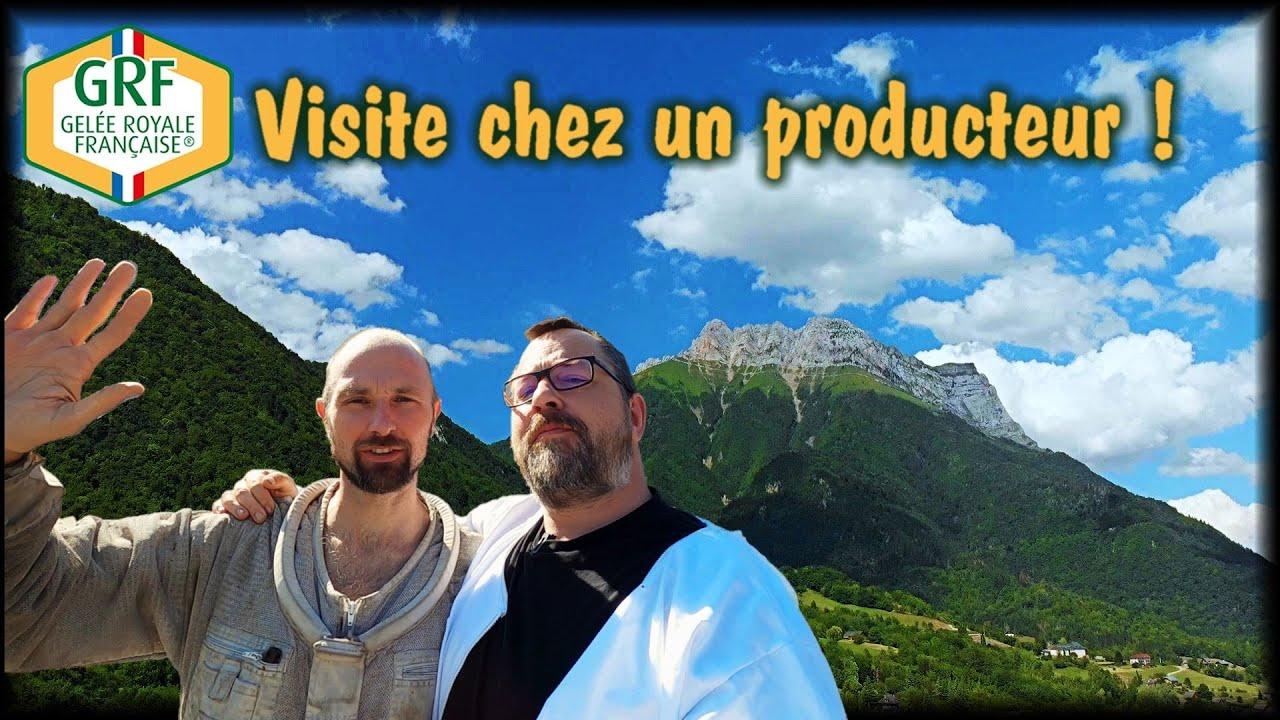 GELÉE ROYALE FRANÇAISE - Visite en Savoie chez Michaël Gourreau
