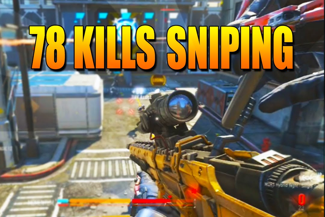 Call of Duty: Advanced Warfare Quickscoping Multiplayer Gameplay - Advanced Warfare Sniper Gameplay