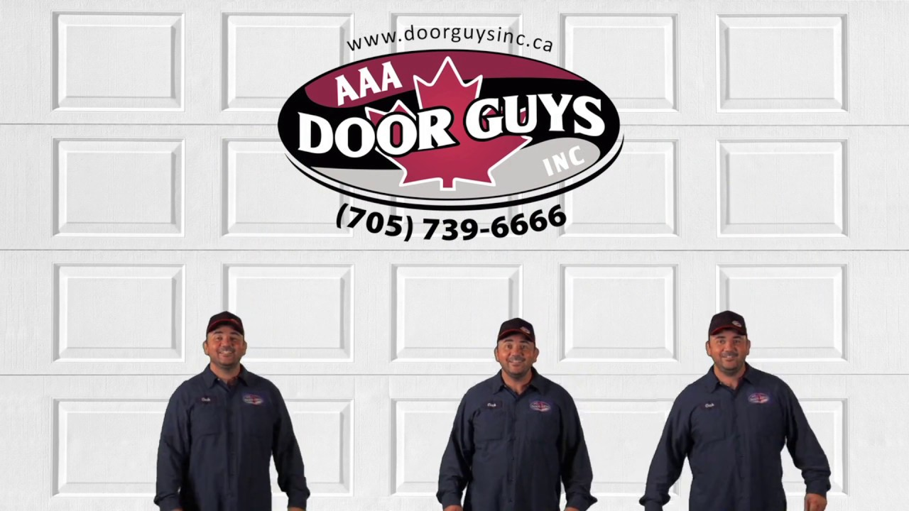 AAA Door Guys | Garage Door Tune-Up Tip #7 | Door Sections  sc 1 st  YouTube & AAA Door Guys | Garage Door Tune-Up Tip #7 | Door Sections - YouTube