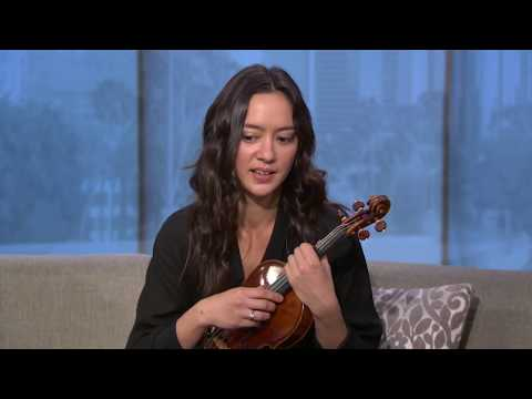 Violinist Lucia Micarelli on coming back after injury, performs on Good Day LA