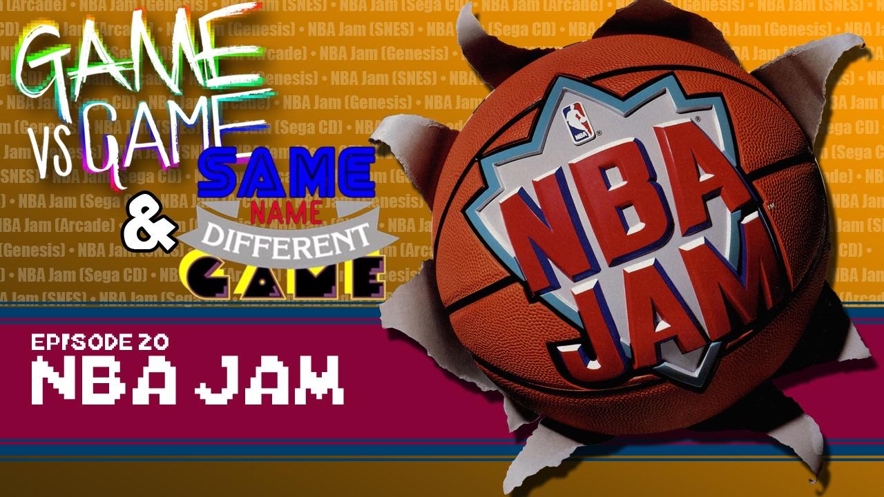 Nba Jam Arcade Genesis Snes Amp Sega Cd Game Vs Game