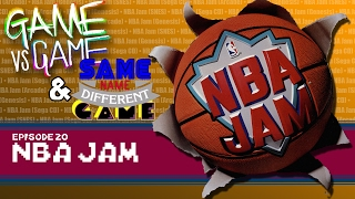 NBA Jam - Arcade, Genesis, SNES & Sega CD - Game vs Game