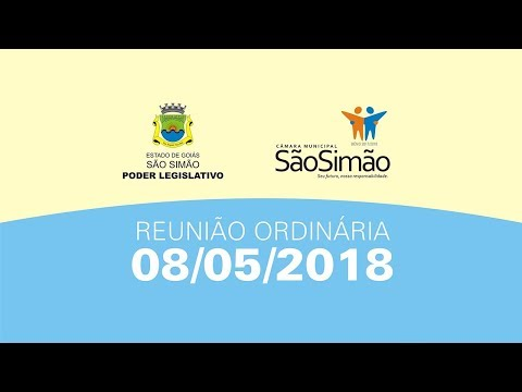 REUNIAO ORDINARIA 08/05/2018