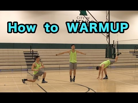 How To WARMUP For Volleyball - Volleyball Tutorial