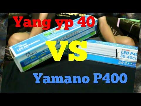 Unboxing yamano p400 vs yang yp 40