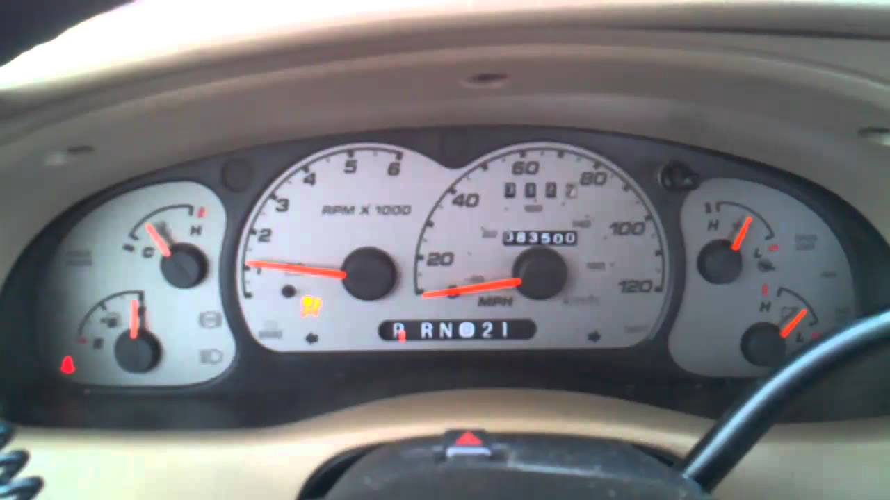 Ford S Fake Oil Pressure Gauge 2003 Ford Ranger Fx4