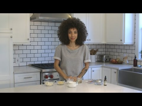 Nikisha Does DIY All Natural Whipped Body Butter: Great for Stretch Marks & Moisturizing