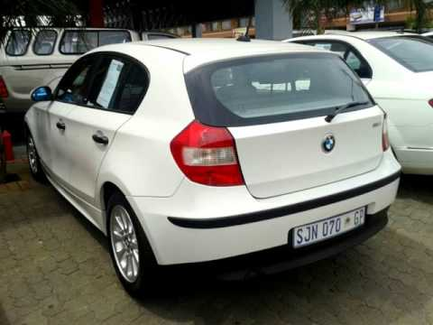 Worksheet. Used 2005 BMW 1 SERIES 116I E87 Auto For Sale  Auto Trader South