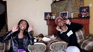 SPICY NOODLE CHALLENGE Ft. Foi Wambui | Wabosha Maxine