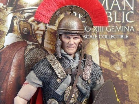 ACI Toys 1/6 Figure Roman Republic Centurion Lucius Unboxing and Review