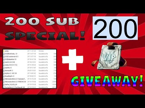 😱HOW TO GET FREE VIP RANK!+MOD FOLDER RELEASE-200 SUB SPECIAL!!!😱