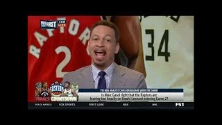 CHRIS BROUSSARD on Giannis: The East is