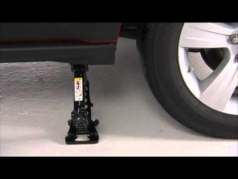 2013 Jeep Patriot Jacking And Tire Change Youtube