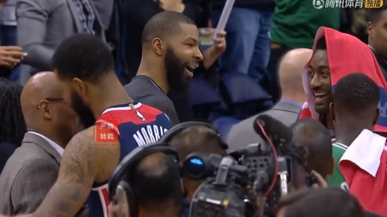 John Wall Had Too Much Fun With Marcus Morris After The Game!