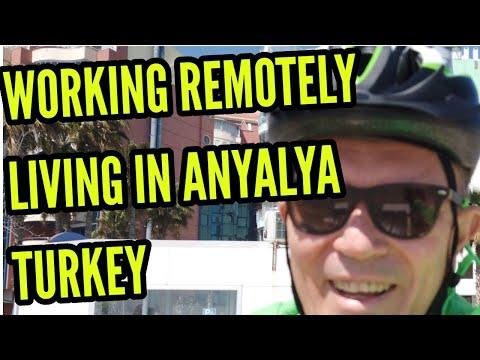 Living in Antalya Turkey working remotely as digital nomad 2021 destination