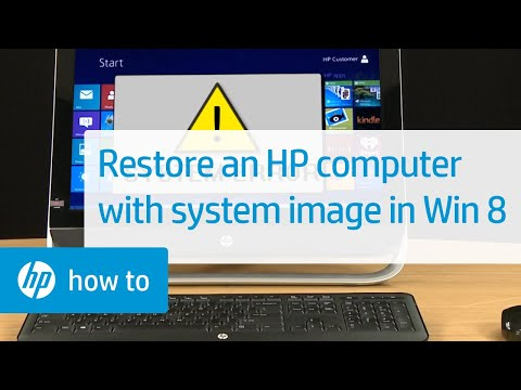 Using a System Image to Restore an HP Computer in Windows 8 | HP Computers | HP