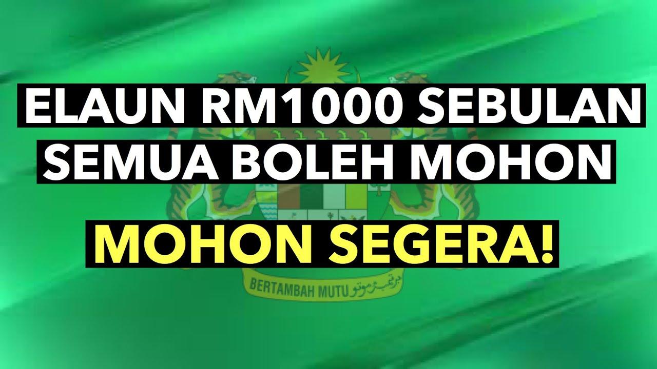 ELAUN RM1000, SEMUA BOLEH MOHON